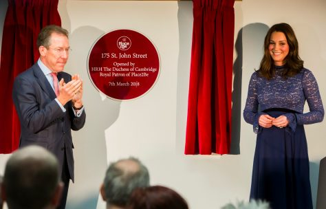 Duchess of Cambridge opens Place2Be HQ