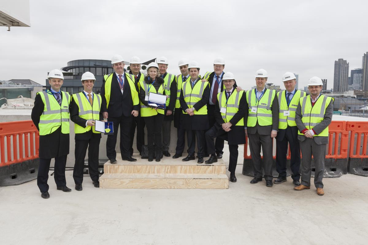 Milestone at Turnmill Development