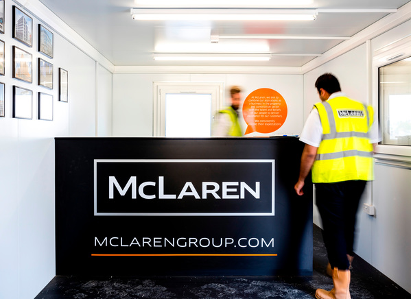 McLaren Construction work experience