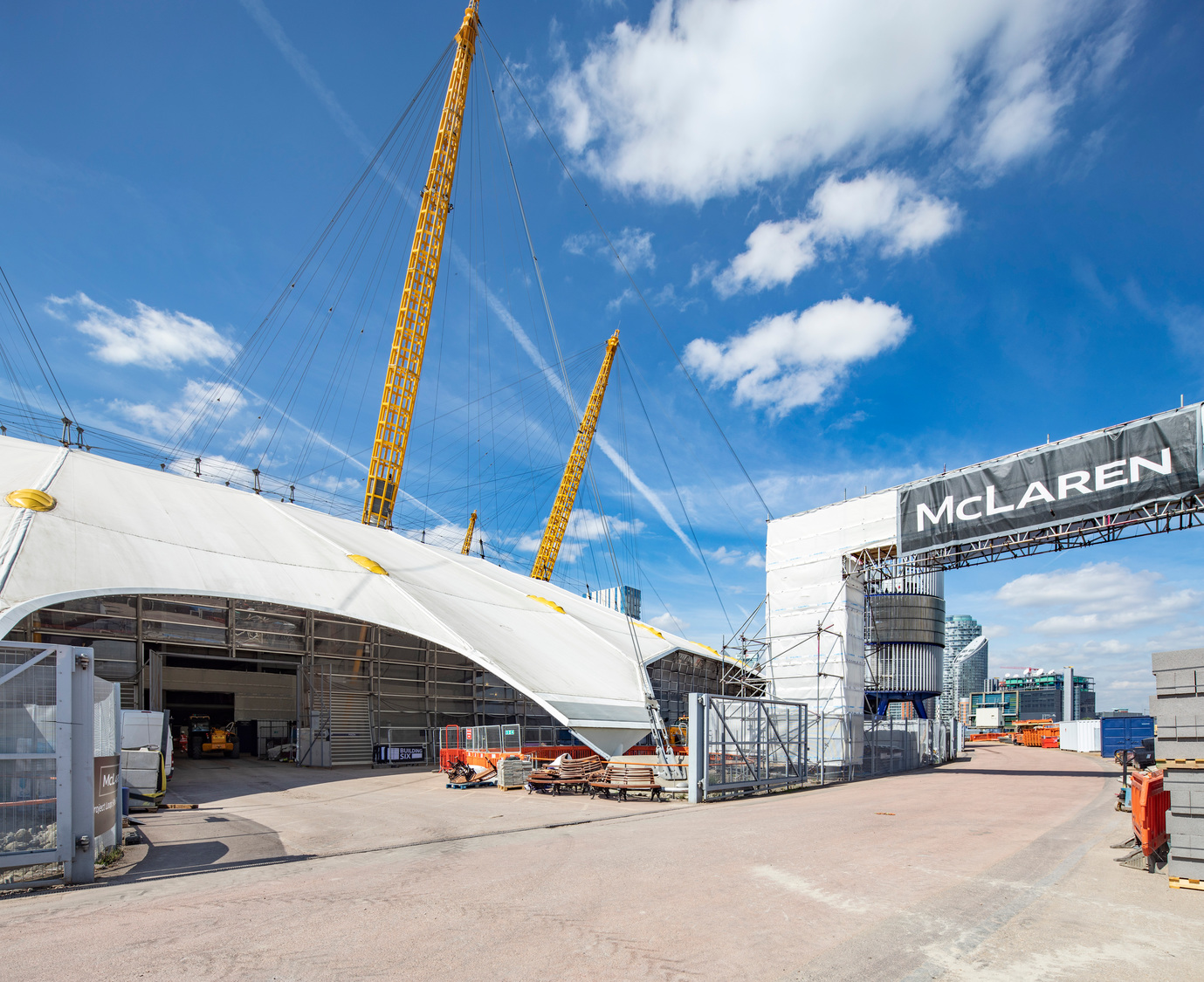 Project Loop at The O2 Mclaren Construction