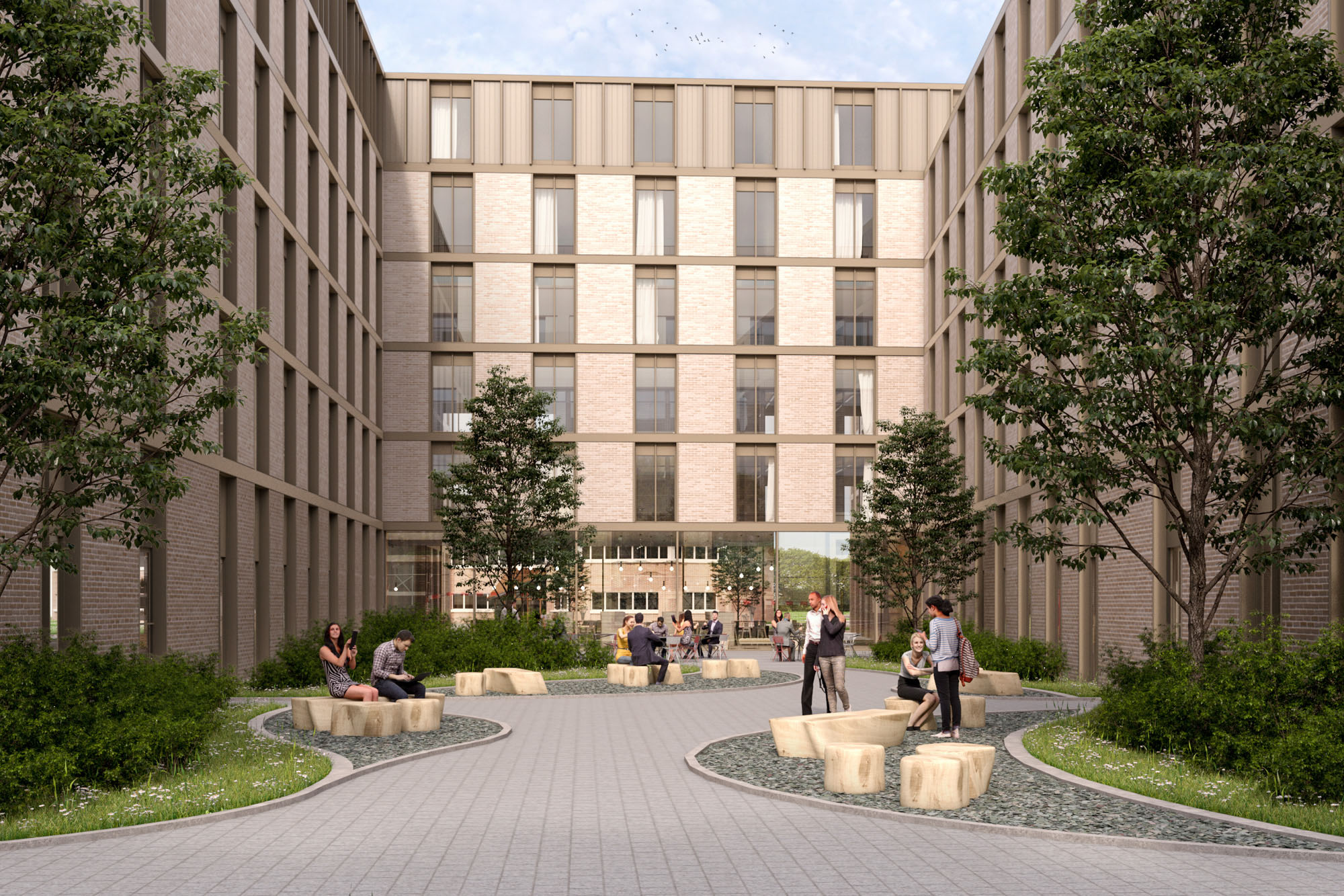McLaren Construction - The Oaks student accommodation
