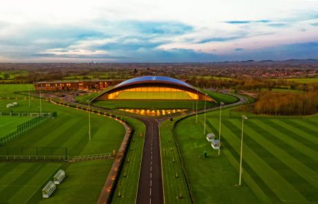 Aerial photo of Leicester City Football Club Training Ground
