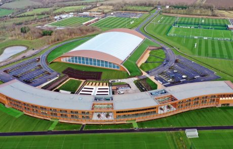Aerial view of lcfc training centre